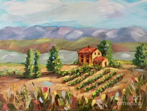 Painting - The Hills Are Alive by Patsy Walton