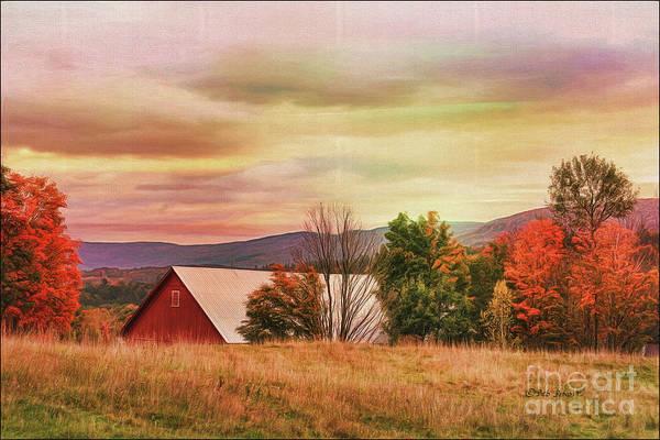 Painting - The Hills Of Vermont by Deborah Benoit
