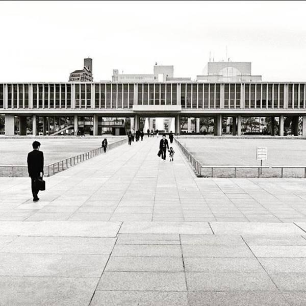 Japan Photograph - The #hiroshimapeacememorialmuseum by Alex Snay