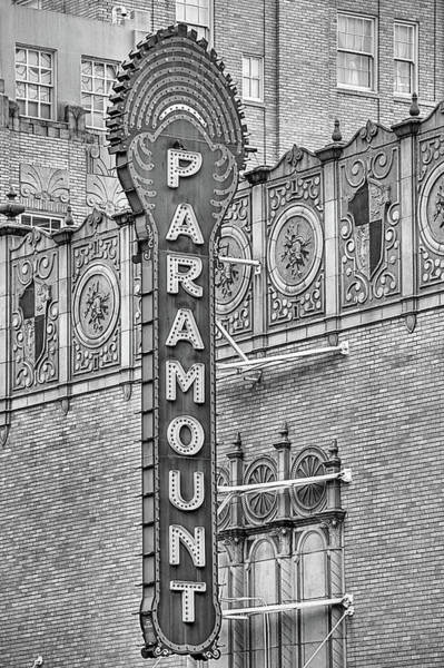 Photograph - The Historic Abilene Paramount Theater by JC Findley