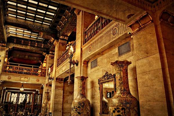 Photograph - The Historic Davenport Hotel 2.0 by Michelle Calkins