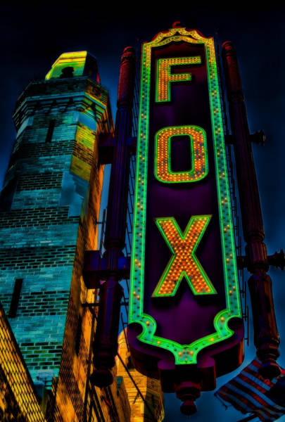 Rader Photograph - The Historic Fox Theatre by Kelly Rader