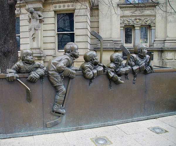 Photograph - The Hockey Hall Of Fame - Toronto Canada by Bill Cannon
