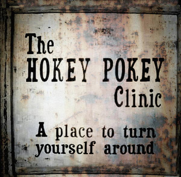 Photograph - The Hokey Pokey - Turn Yourself Around by Andrea Kollo