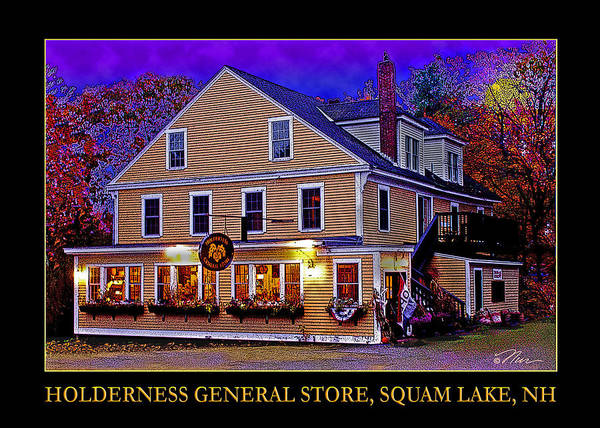 Photograph - The Holderness General Store by Nancy Griswold