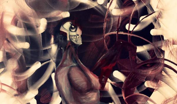 Ant Mixed Media - The Hole Of Foolish Zone by Emmanuel Sebastian