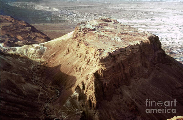 Photograph - The Holy Land: Masada by Granger