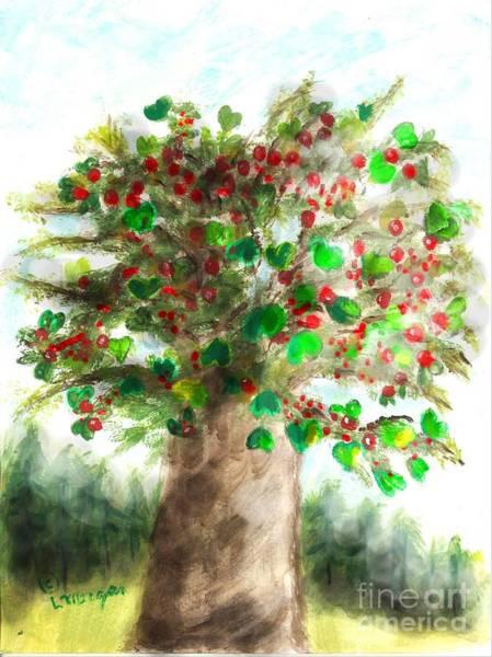 The Holy Oak Tree Art Print