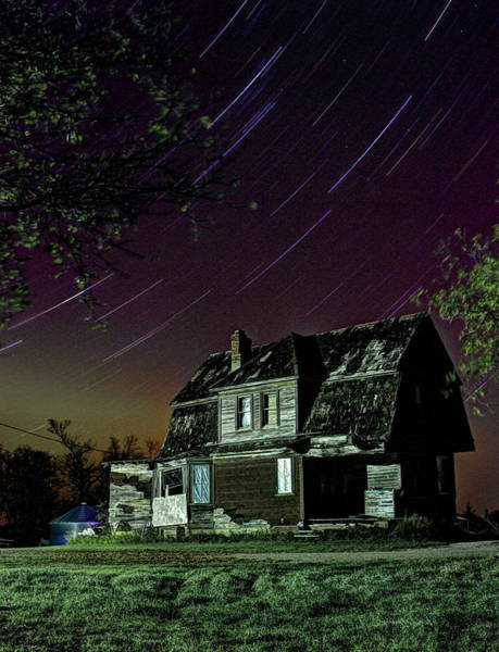 Photograph - The Homestead Under Stars by David Matthews