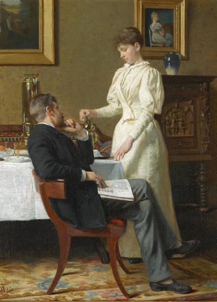 Honeymoon Painting - The Honeymoon by Carl Thomsen