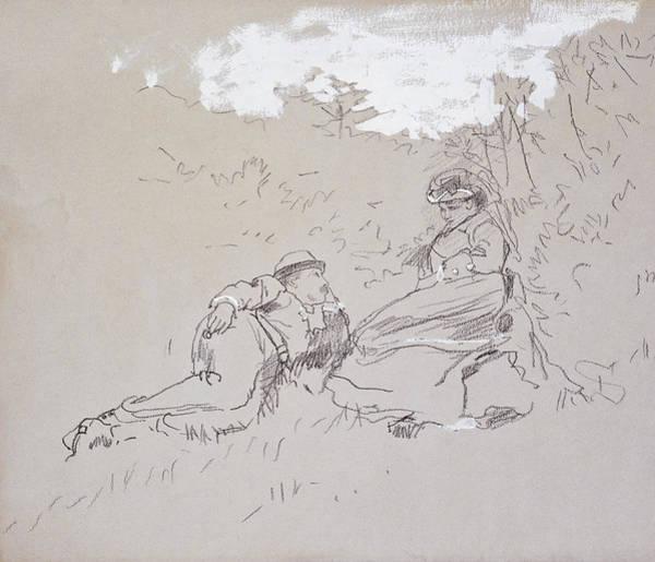 Honeymoon Painting - The Honeymoon by Winslow Homer