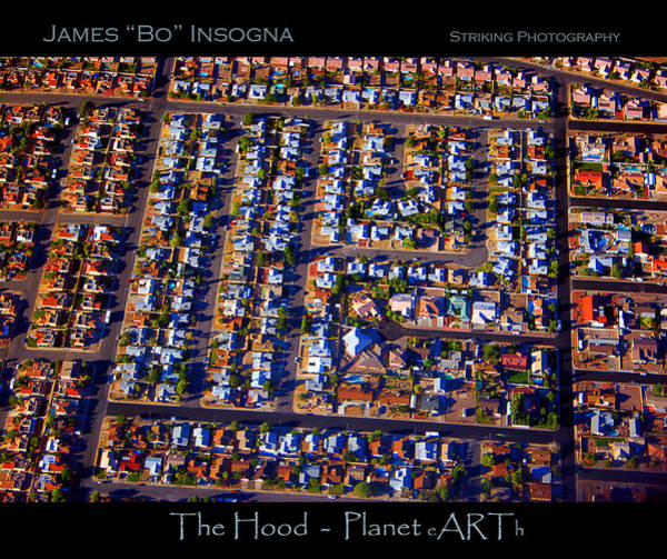Photograph - The Hood - Planet Art by James BO Insogna