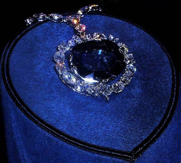 Photograph - The Hope Diamond by Danielle R T Haney
