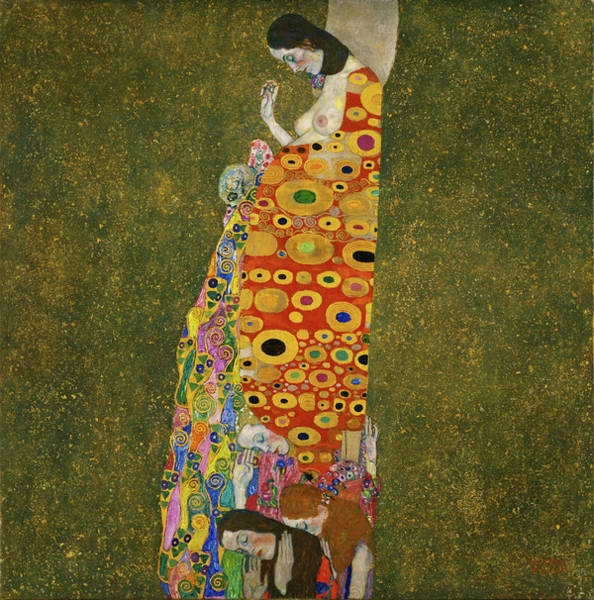 Wall Art - Painting - The Hope II by Gustav Klimt