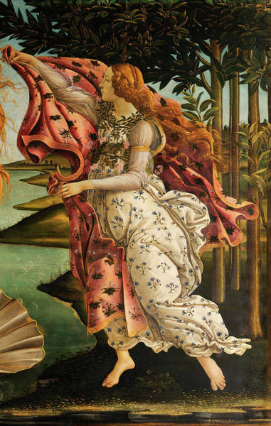 Sandro Botticelli Painting - The Hora Of Spring by Sandro Botticelli