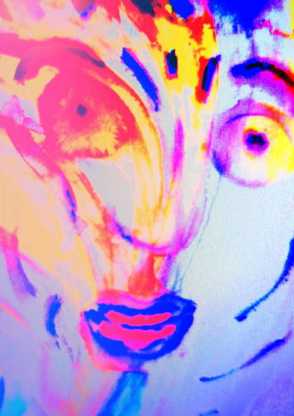Arousal Painting - The Horse Is In Me And In You  by Hilde Widerberg