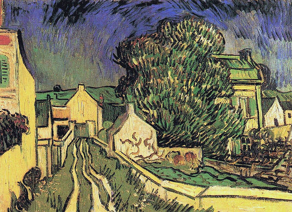 Narrow Street Painting - The House Of Pere Pilon, 1890 by Vincent Van Gogh
