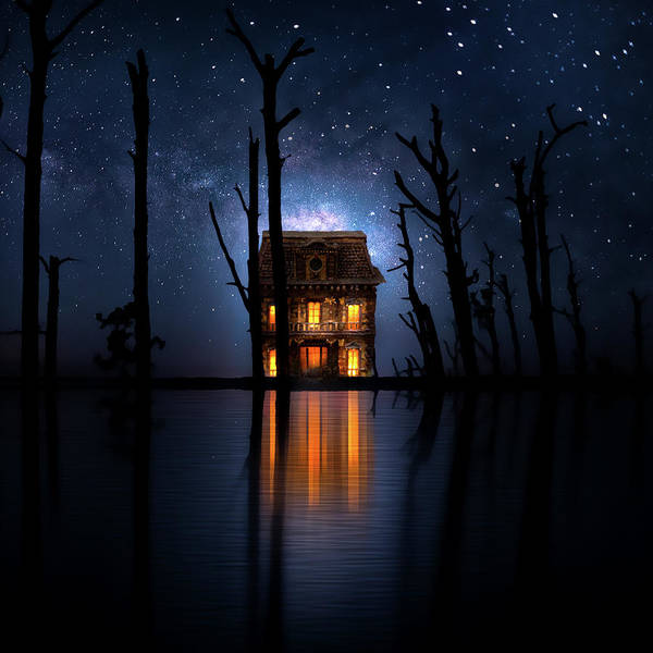 Cabin In The Woods Wall Art - Photograph - The House On The Lake by Mark Andrew Thomas
