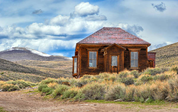 Photograph - The House That Time Forgot by AJ Schibig