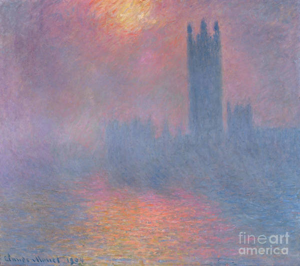 The Houses Of Parliament London Art Print