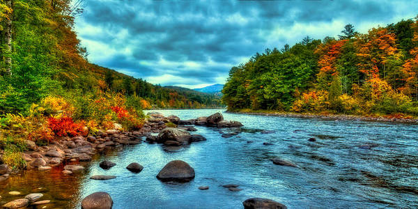 Photograph - The Hudson River In The Fall by David Patterson