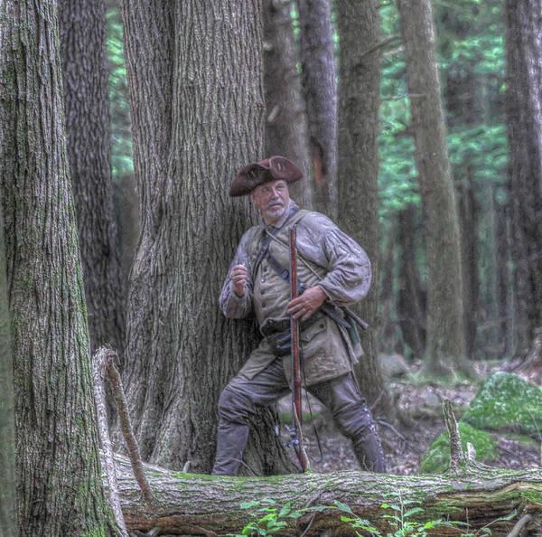 Musket Digital Art - The Hunter by Randy Steele
