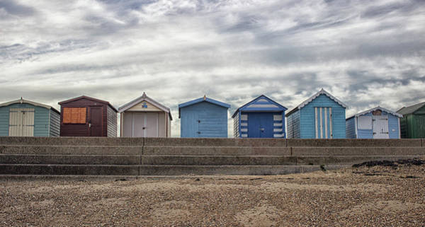 Essex Wall Art - Photograph - The Huts by Martin Newman