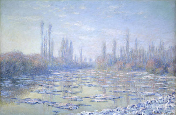 Painting - The Ice Floes by Celestial Images