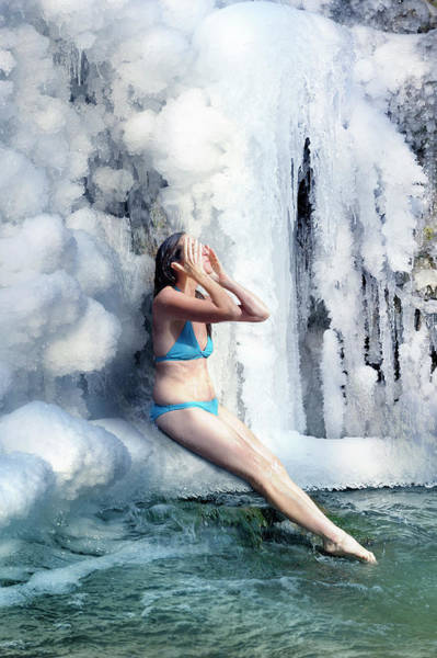 Photograph - The Ice Shower by Jean Gill