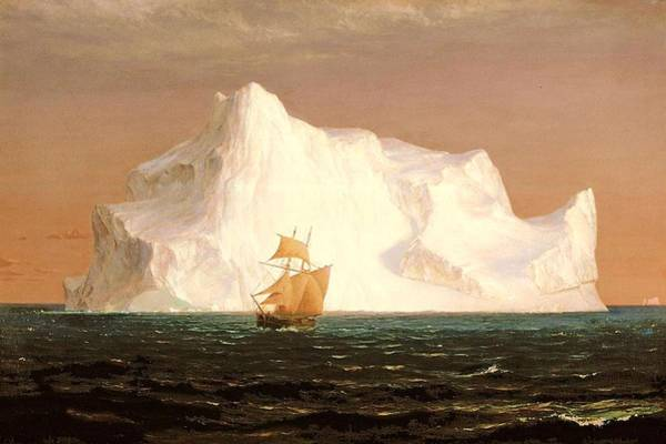 Painting - The Iceberg by Frederic Edwin Church