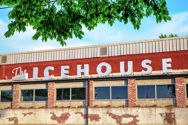 Photograph - The Icehouse - Market District - Bentonville Arkansas by Gregory Ballos