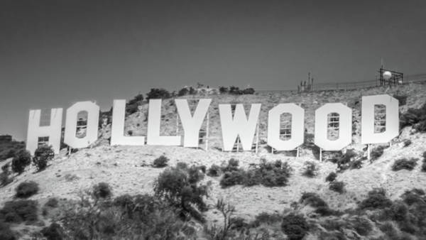 Wall Art - Photograph - The Iconic Hollywood Sign  by Art Spectrum