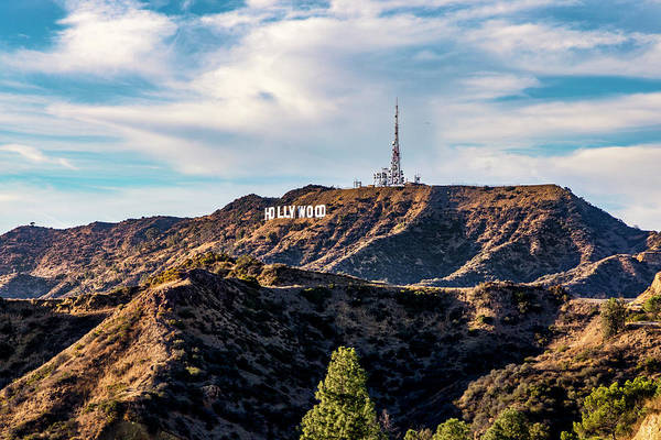 Photograph - The Iconic Hollywood Sign by Gene Parks