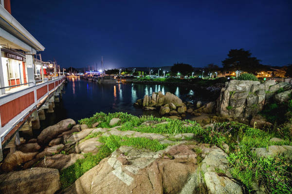 Photograph - The Illuminated Wharf by Margaret Pitcher