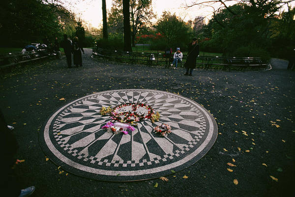 Strawberry Fields Wall Art - Photograph - The Imagine Mosaic, A Memorial To John by Melissa Farlow