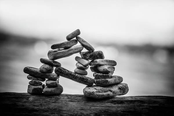 Balancing Rocks Photograph - The Importance Of Being by Matthew Blum