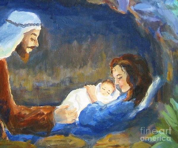 Wall Art - Painting - The Infant King by Maria Hunt