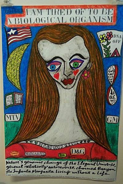 Wall Art - Painting - The Infanta Margarita Living Without A Life by Francesco Martin