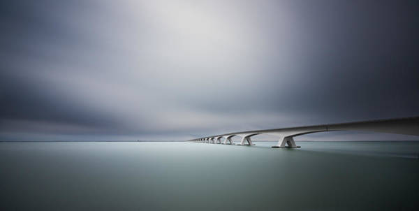 Horizon Wall Art - Photograph - The Infinite Bridge by Arthur Van Orden