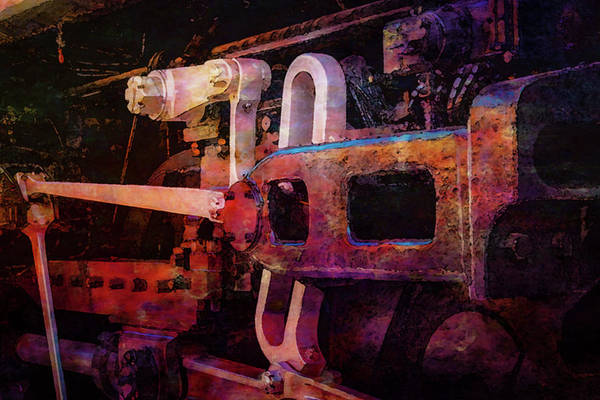 Photograph - The Ingenuity Of Steam Digital Painting 3997 Dp_3 by Steven Ward