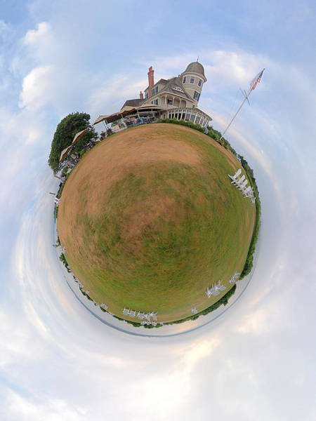 Wall Art - Photograph - The Inn At Castle Hill - Planet by Christopher Blake
