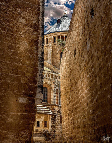 Photograph - The Inner Passage To The Armenian Church by Endre Balogh