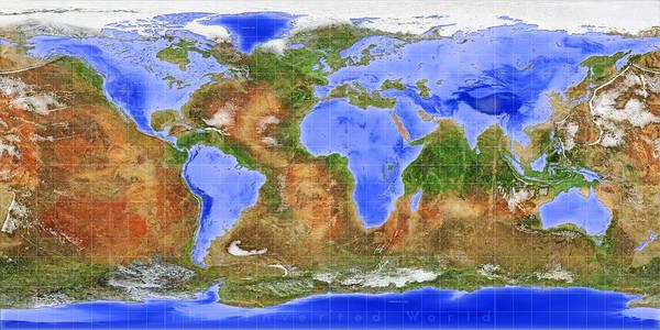 The Inverted World Art Print
