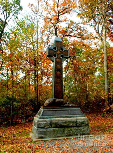 Wall Art - Photograph - The Irish Brigade Monument by William Rogers