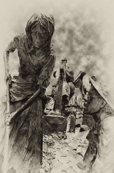 Gaelic Photograph - The Irish Famine by Bill Cannon