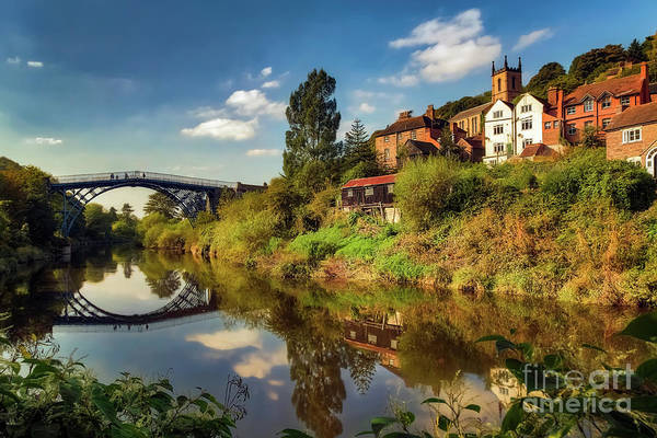 Wall Art - Photograph - The Iron Bridge by Adrian Evans