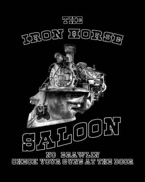 Photograph - The Iron Horse Saloon by TL Mair