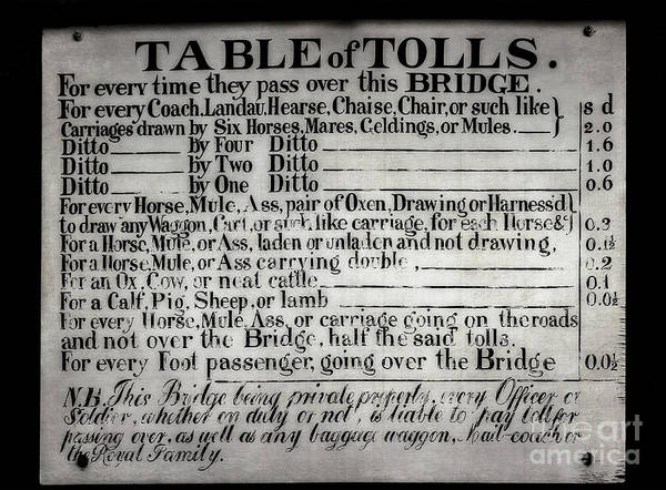 Photograph - The Ironbridge Tolls by Adrian Evans