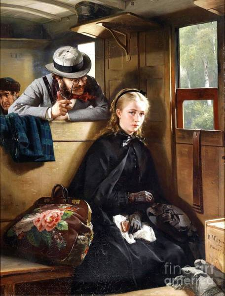 Wall Art - Painting - The Irritating Gentleman by Pg Reproductions