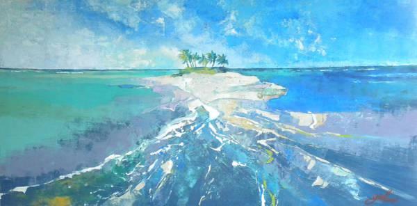 Caribbean Wall Art - Painting - The Island by Jan Farara